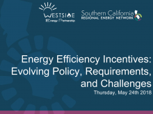 Energy Efficiency Incentives_ Evolving Policy, Requirements, and Challenges